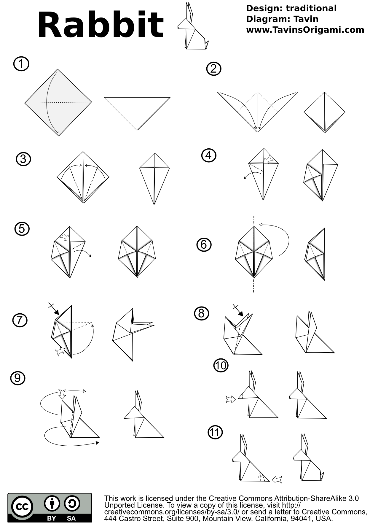 origami turtle instructions pdf