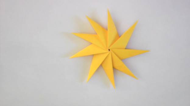 Origami Star Instructions Tavins Origami