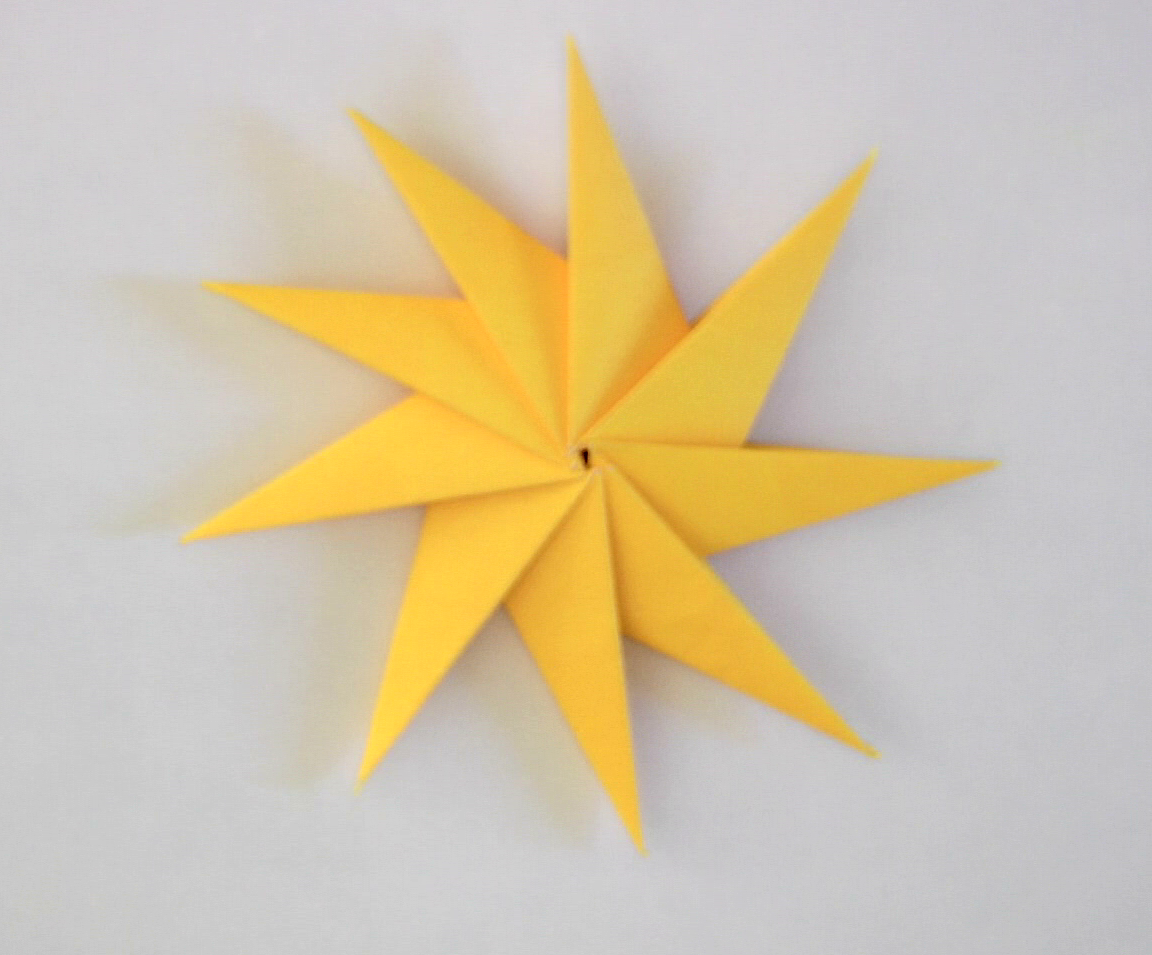 Origami Star Instructions - Tavin's Origami - photo#29
