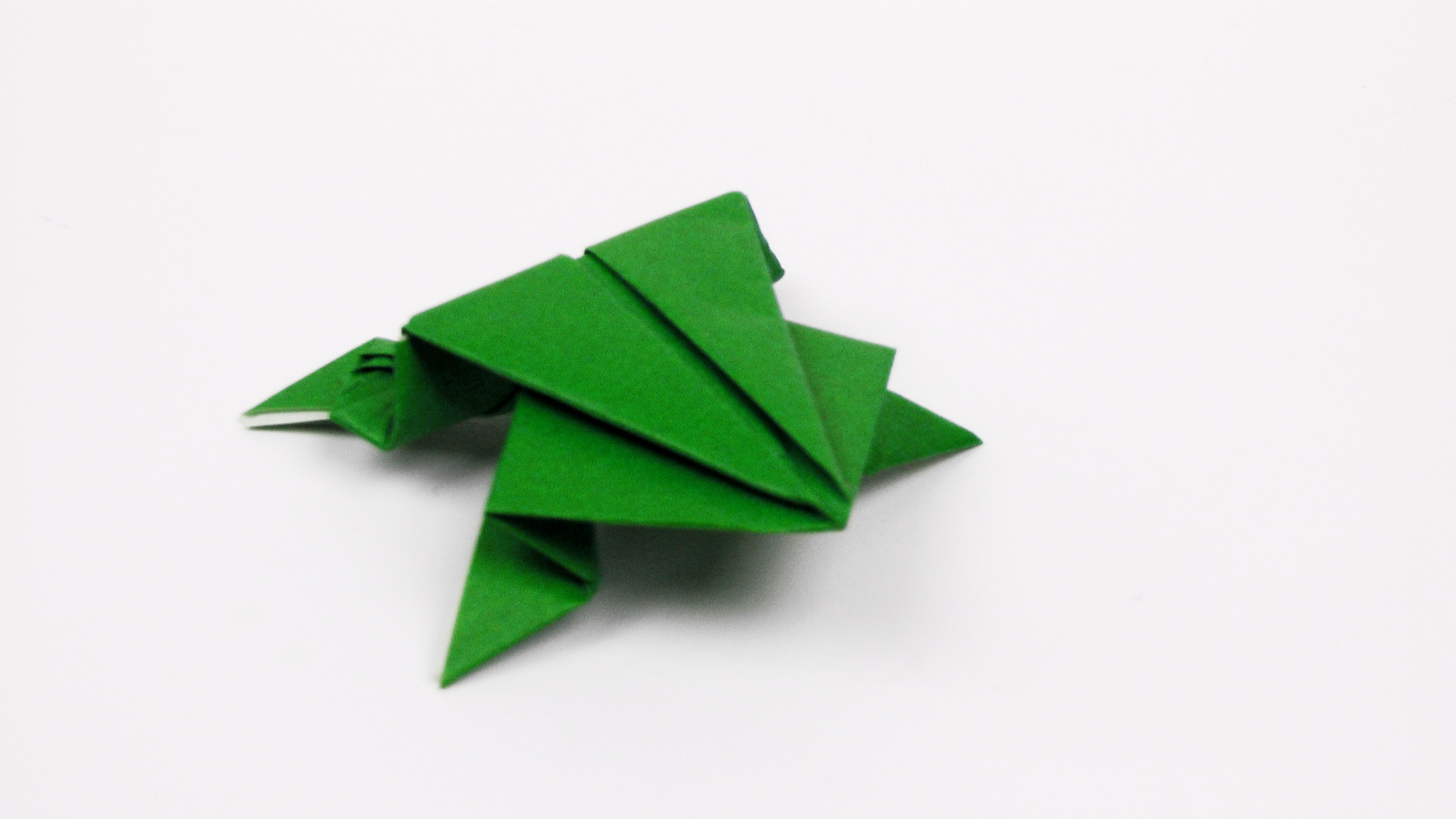 How to Make an Origami Frog  Origami Instructions