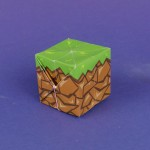 Origami Minecraft Block Template
