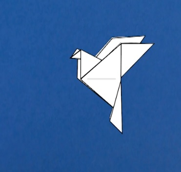 thumbnail of the origami dove