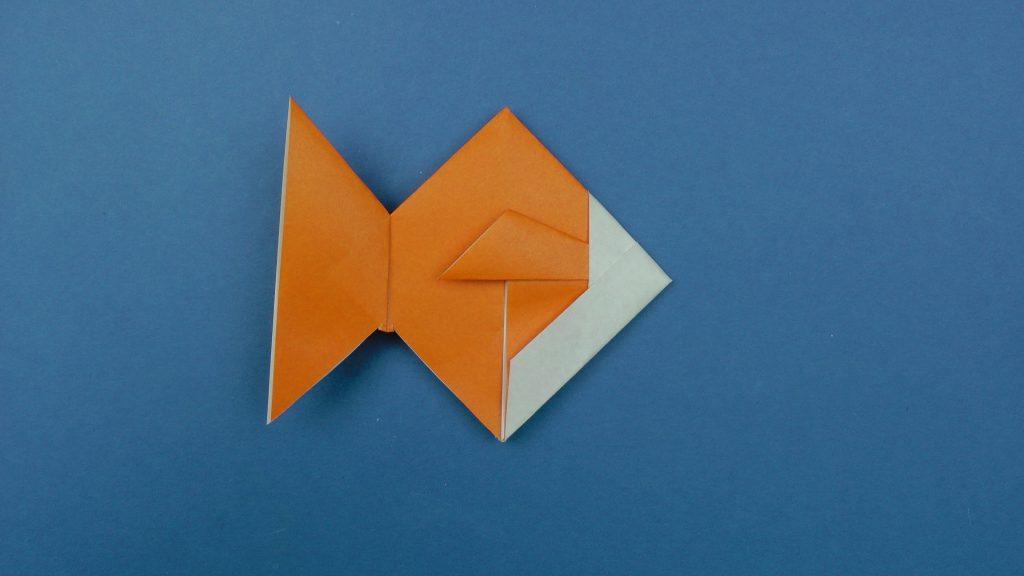 Origami fish instructions  Tavin s Origami
