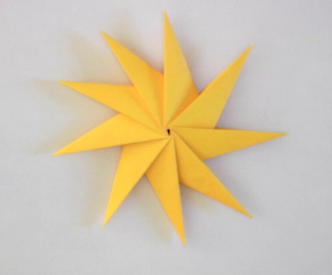 Origami Star Instructions - Tavin's Origami