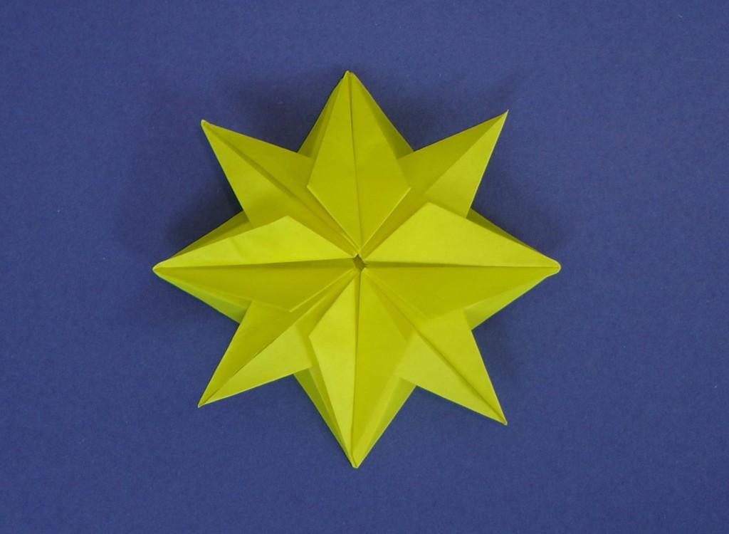 Origami Christmas Star
